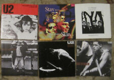 LOT of Six U2 45rpm Picture Sleeves (only)