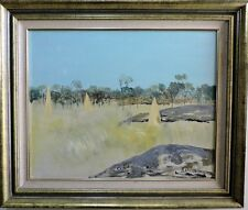 Ray Crooke Oil on Canvas 60x75cm large