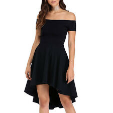 Women Summer Casual Short Sleeve Evening Party Cocktail Short Mini Dress
