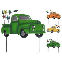 Decorative Metal Rust Free Car Truck Vehicle Garden Ornament Outdoor Decor Stick