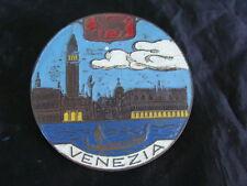 PLACCA VENEZIA PER VESPA LAMBRETTA SCOOTER D'EPOCA MOTO E AUTO FIAT OLD ITALY