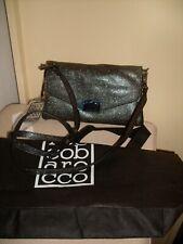 ROCCOBAROCCO DESIGNER  ANNECY PEWTER CROSS BODY/CLUTCH  BAG/HANDBAG NEW/BNWT