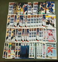 Darius Kasparaitis 58 Card Lot Nice Mix See Scans NHL Hockey