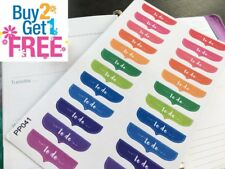 PP041 -- Small To Do Headers Life Planner Stickers for Erin Condren (24 pcs)