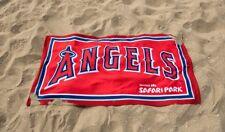LA Angels Beach Towel  6/1/17 SGA Sponsored By San Diego Zoo Safari Park NIB!