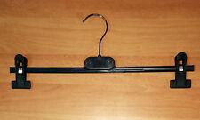 Hosenbügel Schwarz 35 cm Rockbügel Klammerbügel Hosenspanner Kleiderbügel HB1