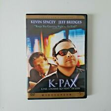 K-Pax (DVD, 2002, Collectors Edition) VERY GOOD CONDITION FRENCH ENGLISH