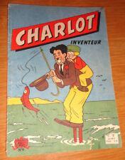ancien bd charlot inventeur n°6