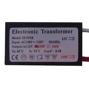 Electronic Halogen Transformer, Low Voltage, 12V 120W, OEM Evrosvet