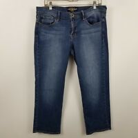 Lucky Brand Sweet'n Crop Womens Medium Wash Blue Jeans Size 12/31