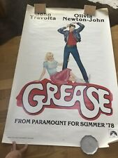 Grease Original Filmposter In Good Condition