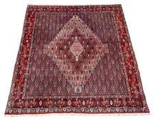 Orient Perser Teppich Senneh / Sanandadj 138x123 Bidjar Täbris Rug Tapis Tappeto
