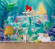 Girls room giant Wall Mural photo wallpaper 360x270cm Ariel The Little Mermaid