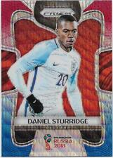 2018 Panini FIFA World Cup Blue Red Wave Prizm (68) Daniel STURRIDGE England