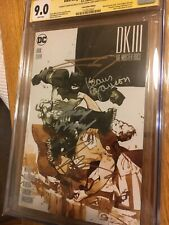Dark Knight 3 Master Race 7 Cgc Ss 4x Miller Kubert Janson Azzarello Convention