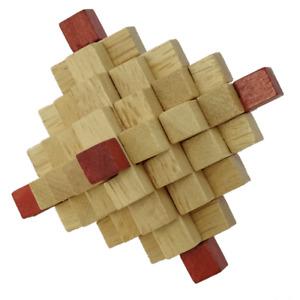 Chrystal 33 piece wooden burr