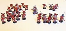 Warhammer 40k Chaos Space Marines World Eaters Khorne Army