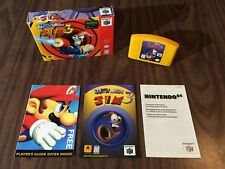 Earthworm Jim 3D (Nintendo 64, N64) Complete in Box / CIB - Tested