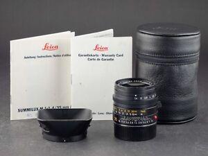 Leica M 35mm 1.4 Summilux 6bit schwarz asph. 11874 (Neuer Service) FOTO-GÖRLITZ