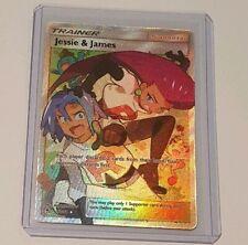 Jessie & James 68/68 FULL ART HIDDEN FATES Pokemon Mint/NM