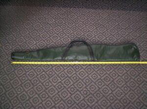 "Vintage Kolpin  42"" Soft leather / Vinyl Gun Rifle / Shotgun Case Fleece Lining"