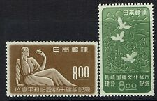 Japan SC# 465 and 466, Mint Never Hinged, 465 minor ink on back - Lot 103016