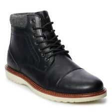 NIB!!  SONOMA Goods for Life™ Joshua Men's Boots  SIZE  11 WIDE  COLOR: BLACK