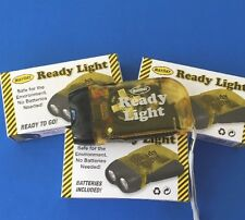 Squeeze Dynamo Flashlight with 3 Bright LED Lights Mayday No Batteries Needed