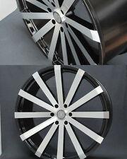 22 Inch Velocity V12 Black Machine face wheel Rims fit 6 X 139.7 Great Deals