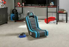 New X-Rocker Geist Officially Licensed PlayStation Gaming Chair - Blue.