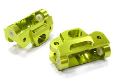 T5030GREEN Integy Billet Machined Caster Blocks for HPI 1/12 Savage XS Flux