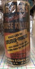 Hess & Clark Ashland Ohio Instant Louse Killer Medicine Powder