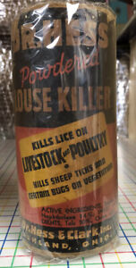 Vintage Veterinary Louse Killer Medicine Powder For Sheep Livestock Chickens