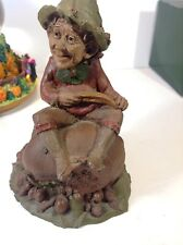 Tom Clark Gnomes. Spud. Hand Signed. #54 No Coa From 1983 35 Yrs Old