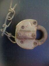 Vintage Adlake Railroad Lock (no Key)