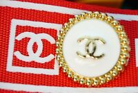 100% Chanel button 1 pieces   metal cc logo 25 mm 1 inch 💔💔💔XXL