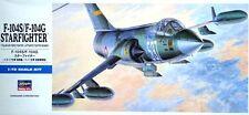 F 104 G/S STARFIGHTER (GERMAN & ITALIAN AF MKGS)#D17 1/72 HASEGAWA RARE!