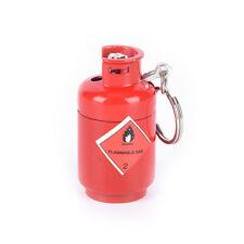 1pc mini gas cylinder shaped refillable butane cigarette flame lighter NO GAS FD