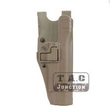 Serpa Level 2 Right Hand Waist Pistol Holster w/ Jacket Slot for Colt 1911 M1911