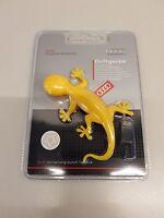 000087009C Genuine Audi Gecko Air Freshener - Yellow - Tropical Fruits scent