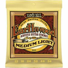 Ernie Ball Acoustic Guitar Strings Earthwood Phosphor Bronze 80/20 Medium Light
