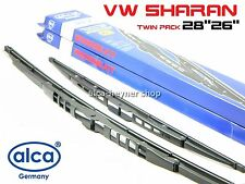 VW SHARAN 1995-2001 windscreen WIPER BLADES 28''26'' !!!LARGE HOOK ARM