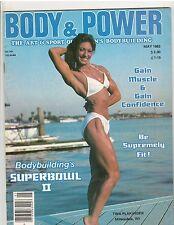 Body Power Female Bodybuilding Muscle Magazine Tina Plakinger 5-83