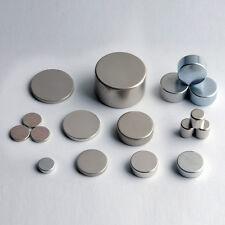 Lot de 10 à 50 aimants Neodyme NdFeB rond puissant magnet Différente dimension