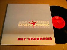 SPANNUNG ENT-SPANNUNG LIMPTAR-WERBEPLATTE 1988 - LP