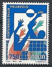 1995 ITALIA CENTENARIO DELLA PALLAVOLO MNH **