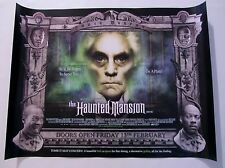 The Haunted Mansion movie poster - Terrence Stamp - Original UK Quad Poster