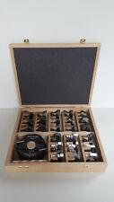 Universal Messerkopfsatz 40 mm von Flury-Systems 24 Profile Neu KEIN IMPORT