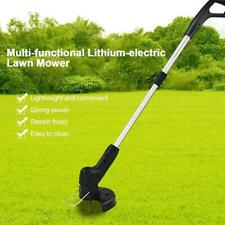 USB Cordless Electric Grass Trimmer Garden Lawn Weed String Brush Cutter Eater