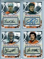 2011-12 ITG Broad Street Boys Autographs John Vanbiesbrouck Philadelphia Flyers